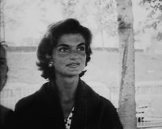 """""""She's poetic, whimsical, provocative, independent, and yet very feminine. Jackie has always kept her own identity and been different."""" ~ Bobby Kennedy."""