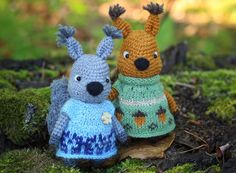 Workshop on knitting toys. Crochet For Kids, Crochet Toys, Free Crochet, Knitting Toys, Braided Rag Rugs, Christmas Crochet Patterns, Master Class, Squirrel, Bunny