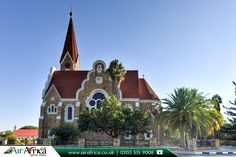 Famous Christ Church, Windhoek, Namibia   |    Book Now! http://www.airafrica.co.uk/destinations/namibia/windhoek?utm_source=pinterest