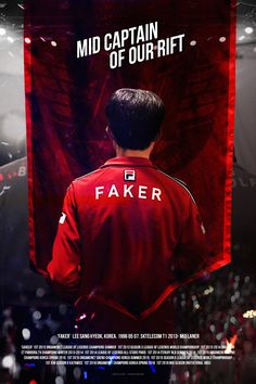 Skt Faker, Skt T1, Sports Graphic Design, App Design Inspiration, Demon King, World Championship, League Of Legends, Event Design, Love Him
