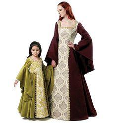 Misses'/Children's/Girls' Costumes-KID Pattern