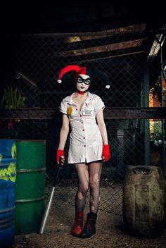 Nurse Harley Quinn Cosplay http://geekxgirls.com/article.php?ID=5888