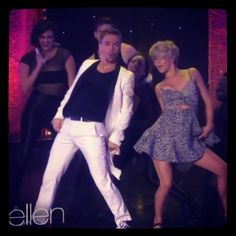 Derek & Julianne on Ellen