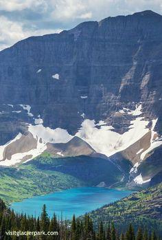 Helen Lake and Ahern Peak | Glacier Park, Montana | http://visitglacierpark.com