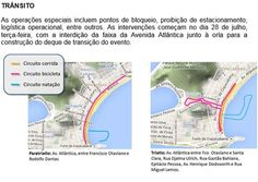Interdições para evento da Rio 2016 complicam trânsito +http://brml.co/1Hb9gDp