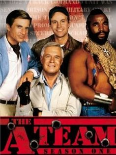 The A Team 1980/'s TV Show Mr T This Is How I Role Model Adult T Shirt