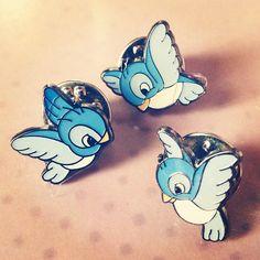 Disney birds pins