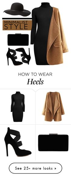 """minimalist"" by hajni0103 on Polyvore featuring Rumour London, John Lewis and Charlotte Russe"