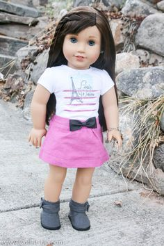 All about Grace Thomas.  She's Girl of the Year 2015 from American Girl.