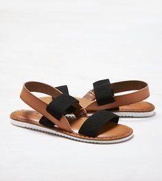 Double Strap Slingback Sandal