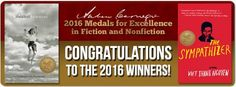 "Congratulations to the 2016 winners of the Andrew Carnegie Medals for Excellence in Fiction and Nonfiction: Viet Thanh Nguyen and Sally Mann! Viet Thanh Nguyen won the fiction medal for his novel ""The Sympathizer"". Sally Mann won the nonfiction medal for her book, ""Hold Still: A Memoir with Photographs"""