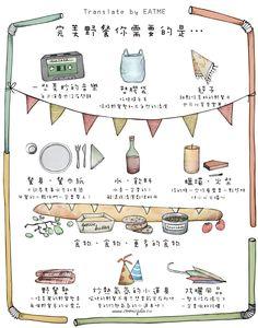 《EatMe食我》【華山美食大集合】完美野餐提案!野餐×展覽×聚餐一次報你知!