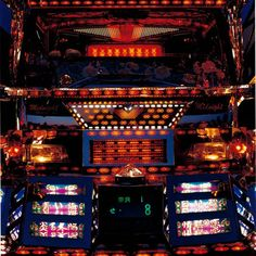 Decotora - the sub-culture of decorated Japanese trucks Cool Trucks, Big Trucks, Las Vegas Slots, Mobile Art, Unusual Art, Japanese Cars, Outsider Art, Art Cars, Motor Car