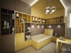 60 Original Children's Bedroom Design Showcasing Vibrant Colors - horrible colors but great organization