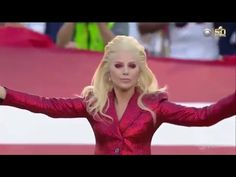 Say What You Want But I Got Goosebumps Watching This... | Kathi Yeager | KTST - Maybe it was less about the sparkly red, however patriotic outfit... Complete with complimentary spa