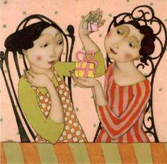 Cecile Veilhan | Les Petits Cadeaux Posters by Cécile Veilhan at AllPosters.com