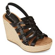 MIA girl Basket Wedge Sandals