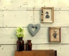 לב מבטון לתלייה/ גריי עיצובים בבטון