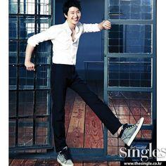 Uhm Ki Joon - Singles Magazine September Issue '12