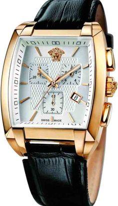 Sharp dressed Men's style / karen cox.versace watch men's gold - חיפוש ב-Google