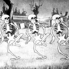 The Skeleton Dance-remember watching this cartoon?