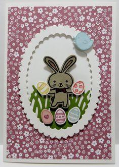 Lynn's Locker: Stampin' Up Basket Bunch, Easter Message, Basket Builder, Tags & Labels, Layering Ovals, Note Cards
