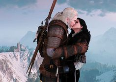 """"""" yelled a voice from the crowd. """"Everyone knows those songs are about Geralt the Witcher! What happened next? Did the witcher and Yennefer the Enchantress. The Witcher Wild Hunt, The Witcher Game, The Witcher Books, Geralt And Ciri, Yennefer Of Vengerberg, Tv Couples, White Wolf, Iconic Movies, Dark Fantasy Art"""