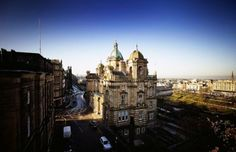 Fraser Suites Edinburgh - View of Princes street garden.  If I had known this existed, I would have rather stayed here.