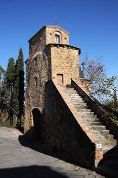 Porta Cappuccini - San Quirico D'Orcia -Tuscany - Italy
