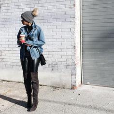 "Kyrzayda Rodriguez ~ on Instagram: ""Oversize denim @shopforever21now #shopforever21now #lookbook"""