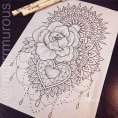 Photo Flash Art Tattoos, Body Art Tattoos, Girl Tattoos, Sleeve Tattoos, New Tattoos, Tatoos, Octopus Tattoo Design, Mandala Tattoo Design, Tattoo Designs