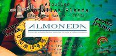 Alquiler Pantallas Plasma Feria Madrid IFEMA - ALMONEDA 2015