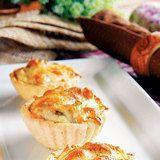朴爾雅食譜筆記: 蘑菇起司塔