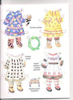 Alaskan Children Paperdolls - Kathy Pack - Picasa Web Albums