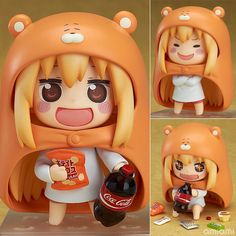 dang! this is so cuteeeee >___< AmiAmi [Character & Hobby Shop] | Nendoroid - Himouto! Umaru-chan: Umaru(Pre-order)