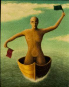 CONTRADICCIÓ - 1985 http://jordipaulsart.wordpress.com/2013/07/24/contradiccio/ #art #arte #paint #pintura #abstract #abstracto