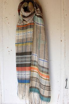 Susan Johnson/Avalanche Looms - sugarbutter scarf