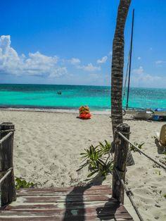Playa Santa Lucia . Cuba