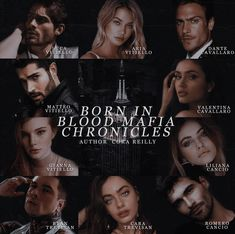 Born in Blood Good Romance Books, Romance Novels, Book Aesthetic, Character Aesthetic, Mafia, Books To Read, My Books, Bound By Honor, Cora Reilly
