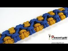 "In this tutorial I demonstrate how to tie the ""Chain sennit"" or ""Crossed chain sennit"" paracord bracelet. This is a fun design basically consisting of a numb..."