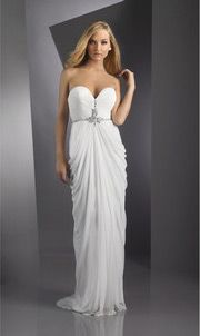 2012 New Sweetheart Strapless Floor-length Prom / Evening Dress