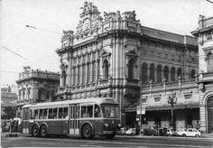 Genova, uno sguardo alla città di un tempo. Stazione Brignole nel 1950