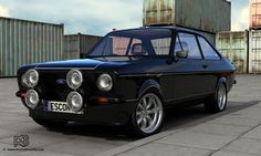 - Ford Escort Mk2 RS2000,  used to have