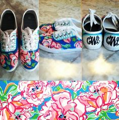 Other Prints Available Hand painted Lilly Pulitzer by AllDahldUp, $25.00