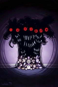 FNAF 4 the nightmares with them toys
