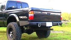 Elite Off-Road: Rear Bumper for 1995.5-2004 Toyota Tacoma. I like that it wraps all the way around both sides.