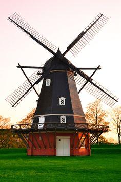 Molino de viento en Kastellet