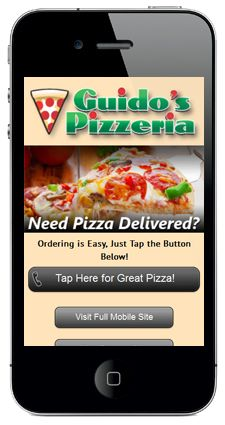 When out of town visitors are wanting a pizza, how do they find you. of customers who visit a mobile unfriendly site are likely to go to a competitor's site Mobile Landing Page, Landing Page Examples, Great Pizza, Portfolio Website Design, Mobile Web Design, Mobile Marketing, Ads, Clothing