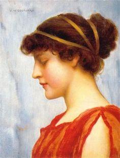 John William Godward, Ophelia, 1889