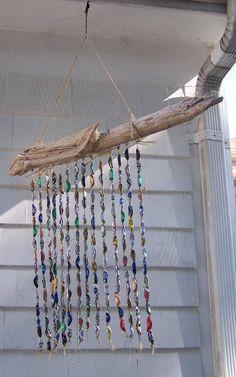 Beer Bottle Cap Redneck Driftwood Patio Porch Yard Indoor Outdoor Wind Chime | eBay